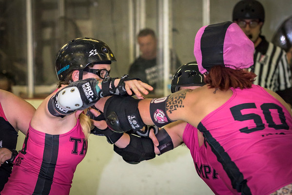 Tampa Roller Derby Franky Panky