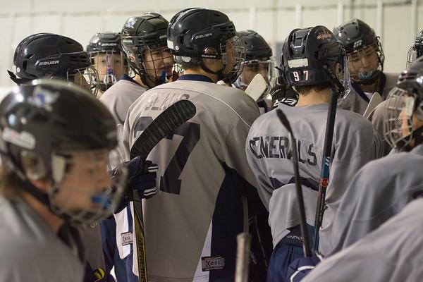 Washington Lee Hockey vs. BI