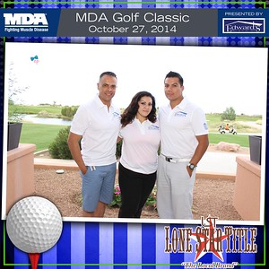 MDA Golf Tournament   Oct. 27th 2014