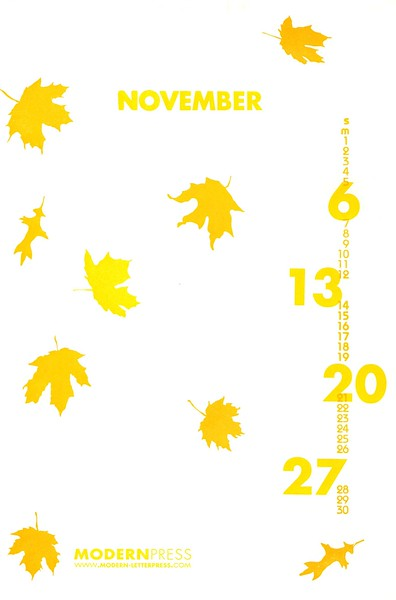 November, 2005, Modern Press