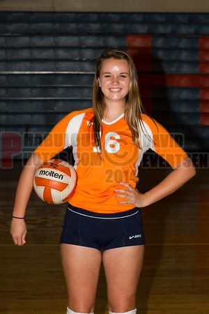 Girls JV Volleyball #16 - 2014