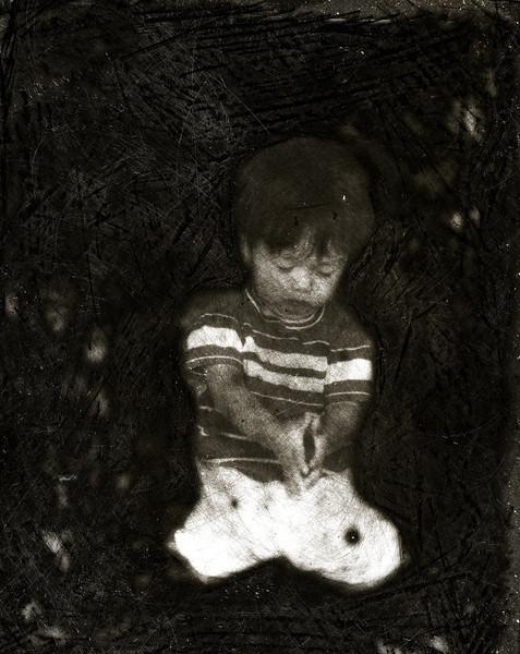 Praying Child Duotone.jpg