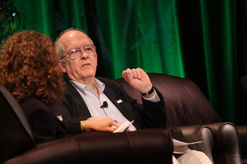 """""""Pollution Report on the World's Oceans"""": Roger Payne, Founder and President, Ocean Alliance; and host Cynthia Figge, Co-Founder, EKOS International and EkoHub"""