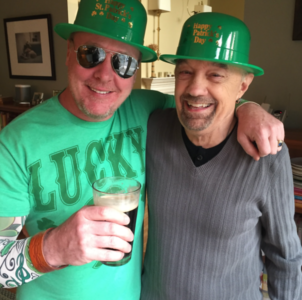 St Patrick's Day friends