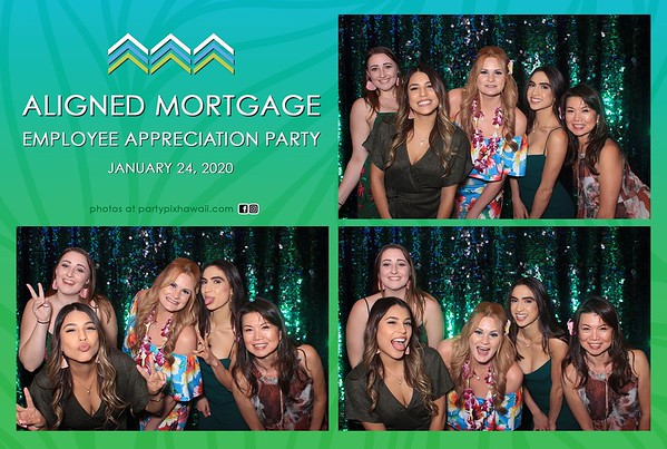 Aligned Mortgage Holiday Party (LED Dazzle Booth)