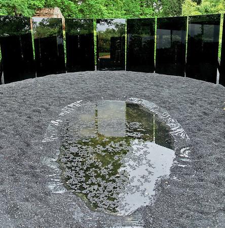 """2009 - Jardins de couleur - Festval des Jardins de Chaumont - Jardin """"Apesanteur"""""""