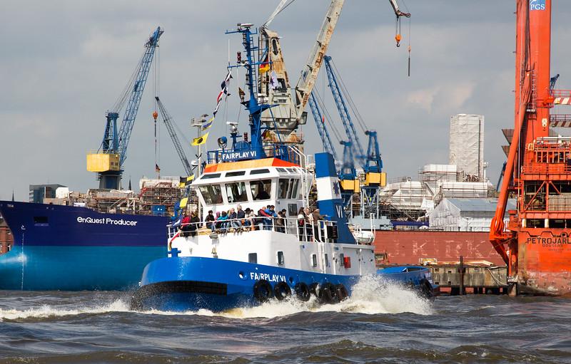 Schlepper FairPlay 6 Hafengeburtstag Schlepperballett