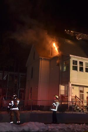 2nd Alarm 1360-1362 Dwight Street, Holyoke, MA 12/25/16