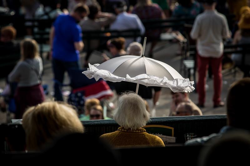 Keeneland Famous White Parasols