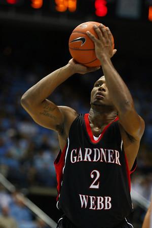 Men's Basketball vs UNC 20091123