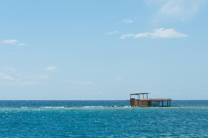Seascape on the island of Aruba