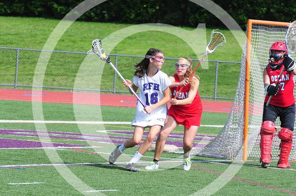 Ocean vs Rumson 2012 Girls Lacrosse