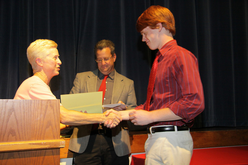 Awards Night 2012 - Student of the Year: Physical Education Leader
