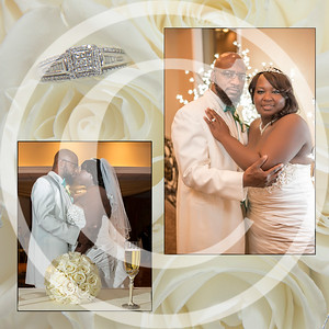 CMW wedding album, client page order