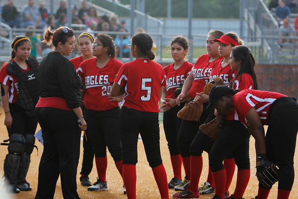 DHJ Softball at Kennedale 2017