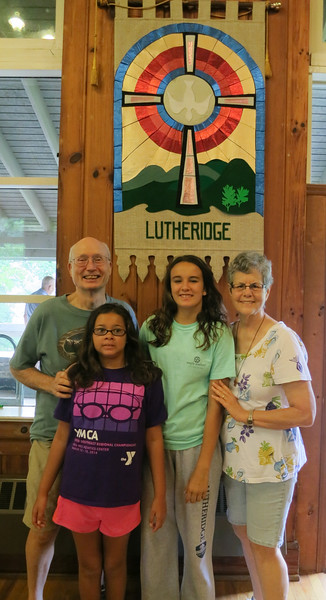Camp Lutheridge with Grandparents