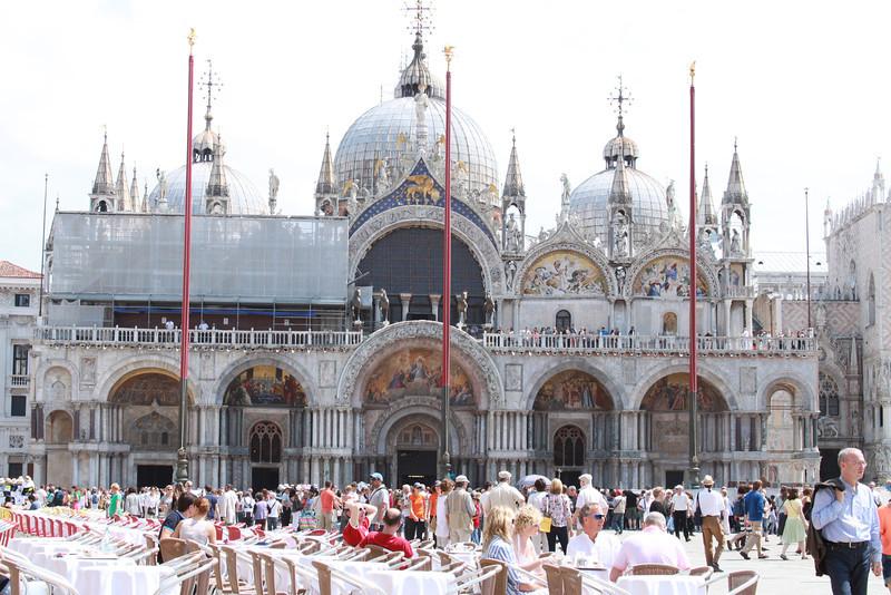 St. Mark's Basilica.