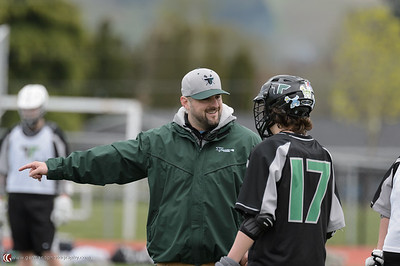 Tigard High School Boys JV Varsity Lacrosse vs Newberg