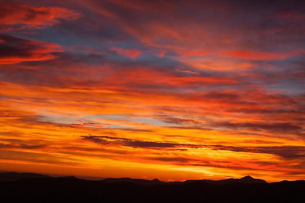 Puesta del sol en Castell d'Alaro