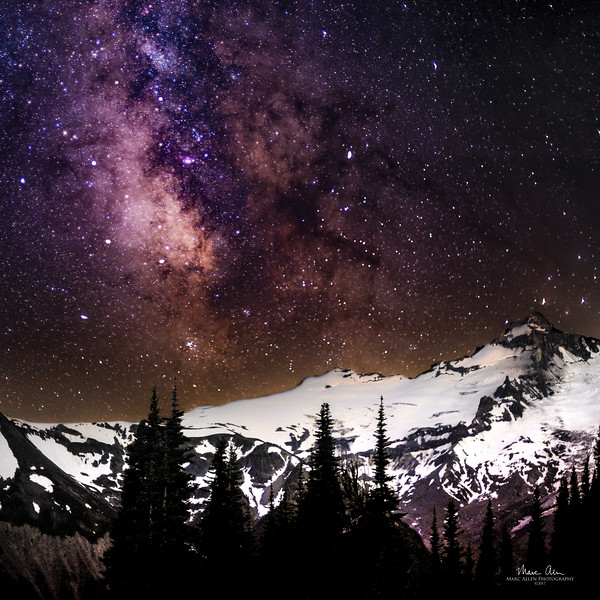 Mt. Rainier Milky Way