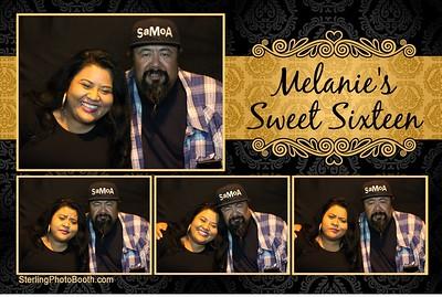 Melanie's Sweet 16