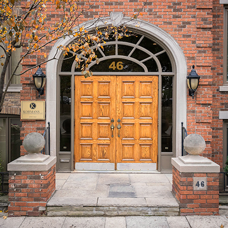 Kormans LLP Office Front Door