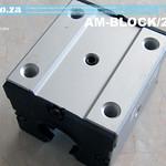 SKU: AM-BLOCK/20R, 20mm Round Rail Bearing Runner Block