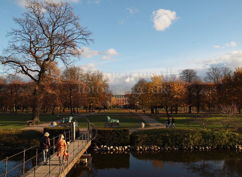 The Kings Garden surround Rosenborg Castle. Photo Martin Bager.