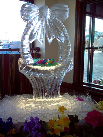 Easter Ice Sculptures