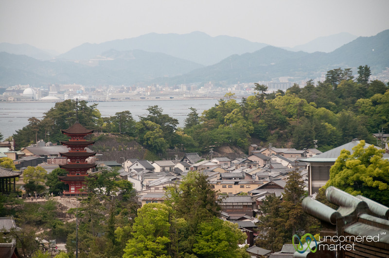 View of Miyajima from Daisho-In Temple - Japan