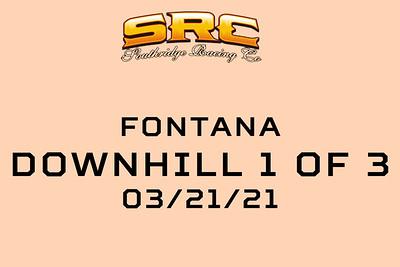 FONTANA DOWNHILL 3/21/21 GALLERY 1 OF 3
