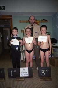 Swimming Gala 2001