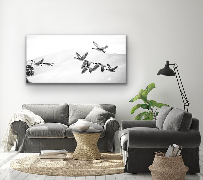 'Coming Home' Canvas Wrap