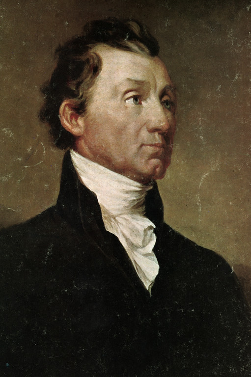 . This is an undated photo of a portrait of U.S. President James Monroe.  (AP Photo)
