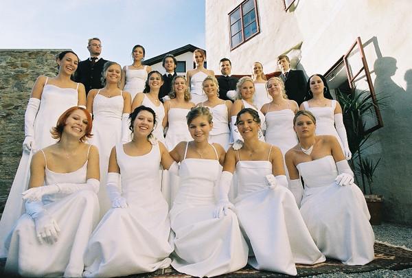 Abschlussklassen 2004 BORG Murau