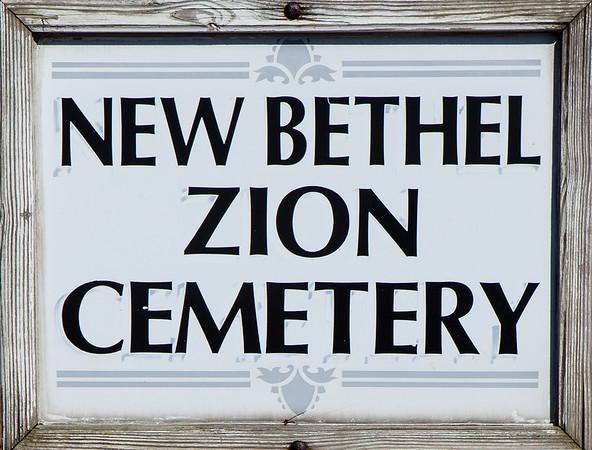 New Bethel Zion Cem. - Grimsville, PA