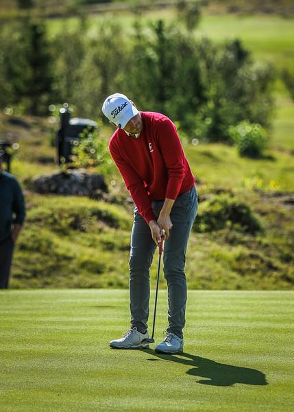 GR, Guðmundur Ágúst Kristjánsson Íslandsmót í golfi 2019 - Grafarholt 2. keppnisdagur Mynd: seth@golf.is