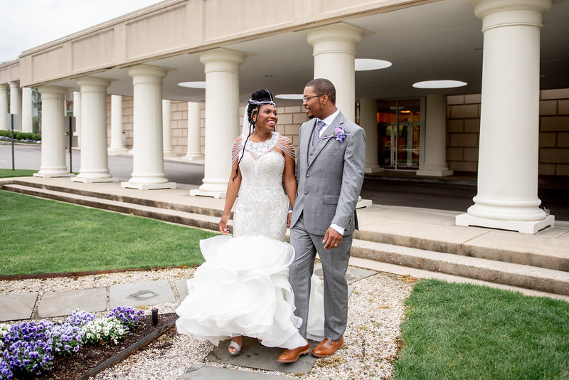 "Sierra & Brandon Wedding // Martin's West - Baltimore, MD ""The bride and groom incorporated some amazing spring colors into their wedding design, and we can't get enough!"" (still haven't received her vendors for the dress and headpiece! will reach back out!)"