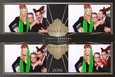 Fontainebleau Development Holiday Party, December 19th, 2019