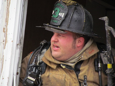 1/29/2011 - Reported Vacant House On Fire Three Notch Road in Hermanville