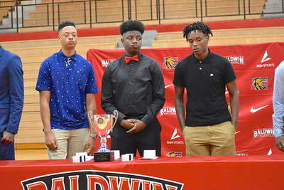 BHS Basketball Ring Ceremony
