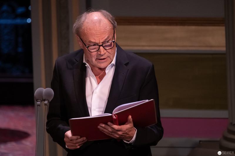 Klaus Maria Brandauer - Nestroy Verleihung 2018