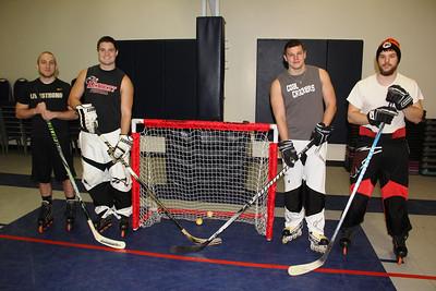 Indoor Hockey Players, YMCA, Tamaqua (12-19-2013)