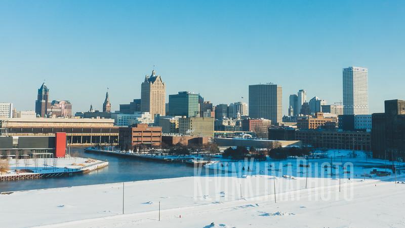 Downtown Milwaukee, Wisconsin