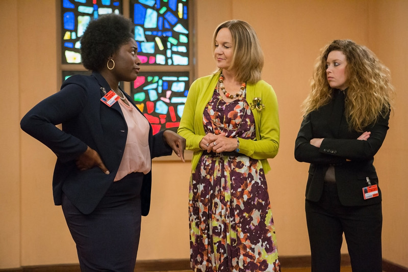 . Danielle Brooks (L) and Natasha Lyonne (R) in a scene from Netflix�s �Orange is the New Black� Season 2. (Jessica Miglio, Netflix)