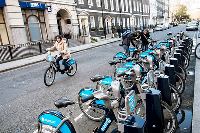 Barclays Cycle Hire Scheme, London, United Kingdom