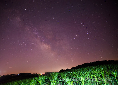 Milky Way over Walnut Creek, Ohio - July 7 , 2018