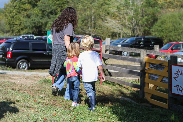 Pumpkin Picking at Hickory Nut Gap Farms