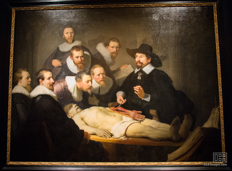 Rembrandt van Rijn, The Anatomy Lesson of Dr Nicolaes Tulp, 1632