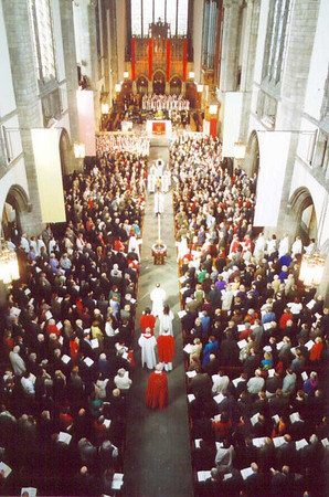 Installation of Presiding Bishop-Elect Mark S. Hanson, October 6, 2001